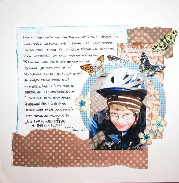 First bicycle Pg.2