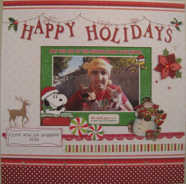 Happy Holidays Chris
