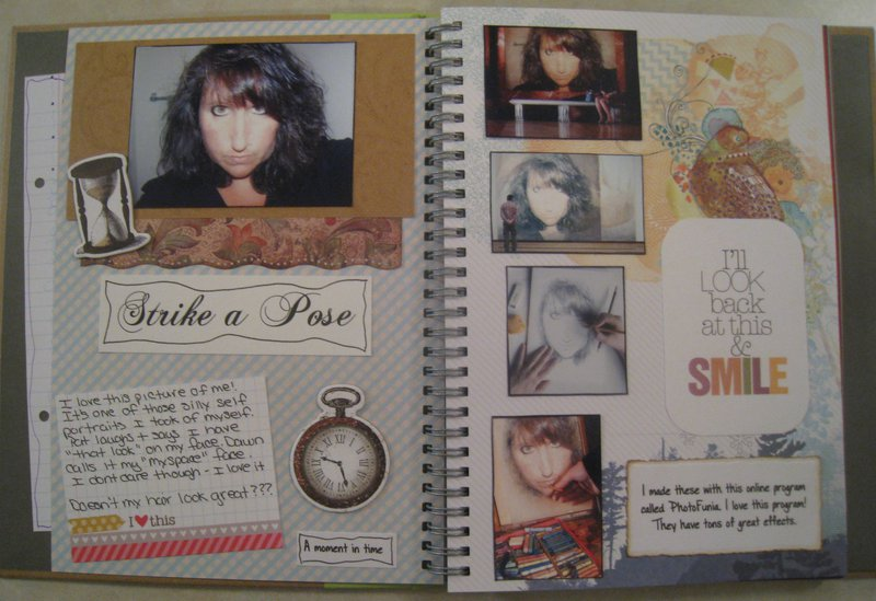 Smashbook Pages 3 and 4