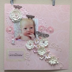 Newborn: a sweet new blossom of humanity