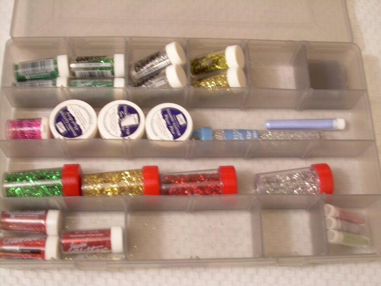 glitter organization