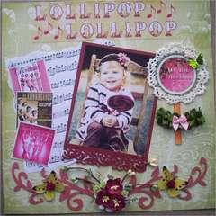 My lil lollipop-April Challenge