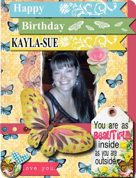 Digi Birthday Card