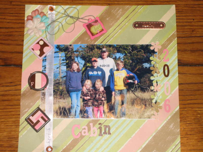 Family Photo @ Cabin