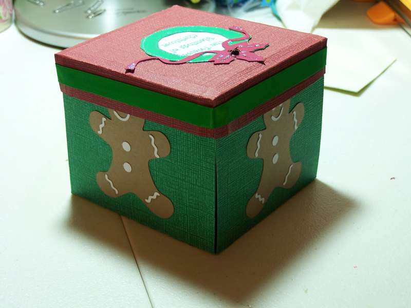 Twelve Blessings of Christmas Exploding Box