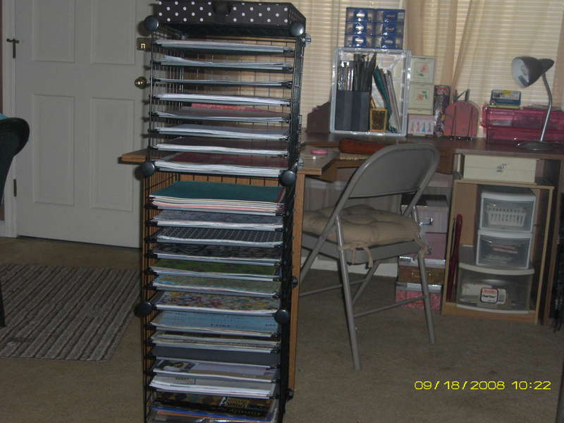 new paper storage rack