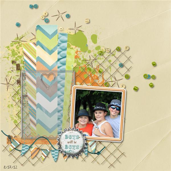The boys...