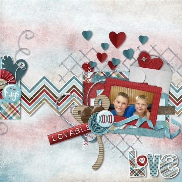 Boyish Love by CathyK Designs @ Gingerscraps