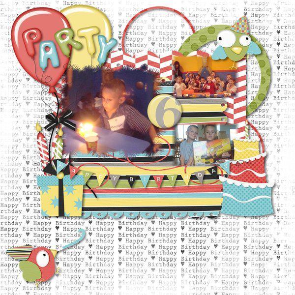 Dominic's 6th Birthday
