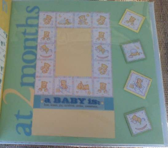 At 2 Months baby page