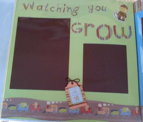 Watching you grow Left page