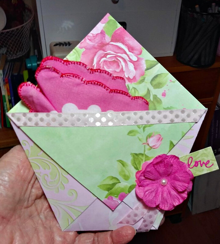 Diaper Fold Card