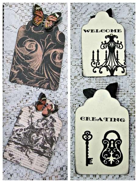 Almanac Collection Door Knob Hanger Tags
