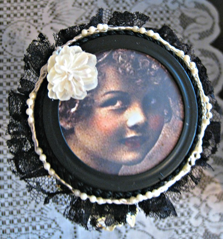 ALTERED MASON JAR LID