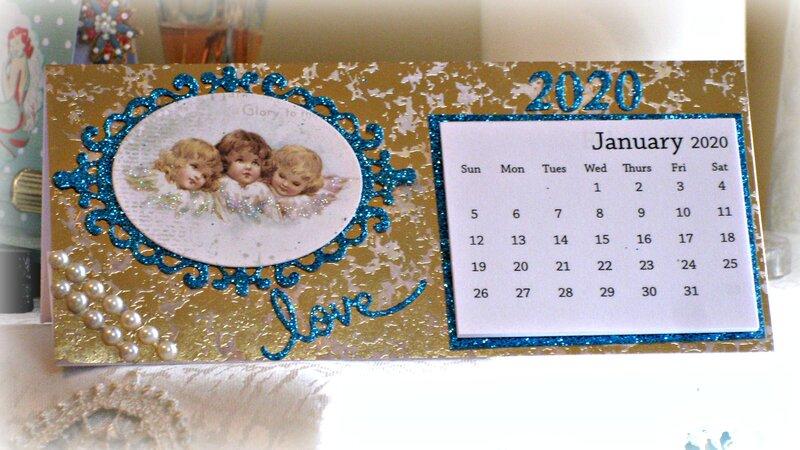 Christmas in July/July VLB ~ Angel Calendar #1