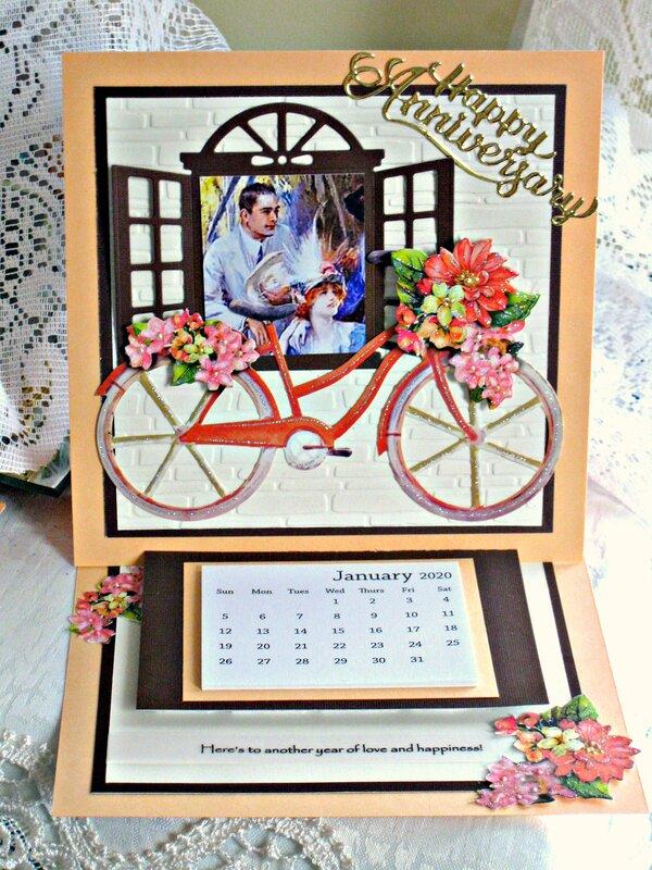 Anniversary Card/Calendar