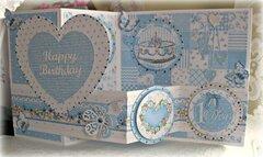 Christmas in July/July VLB ~ Birthday Card 2