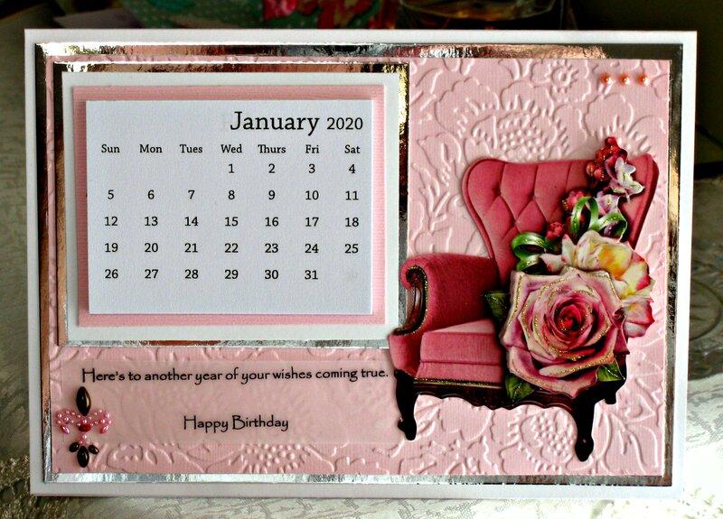 August VLB ~ Birthday Calendar
