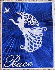 CHRISTMAS CARD 7 ~ Angel of Peace