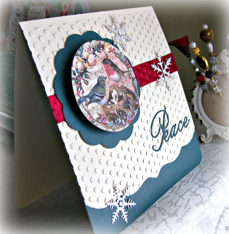 July VLB (Very Laid Back) ~ Christmas Card 1