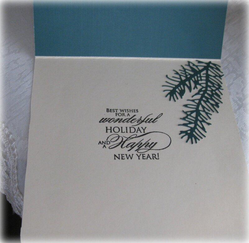 July VLB (Very Laid Back) ~ Christmas Card 1