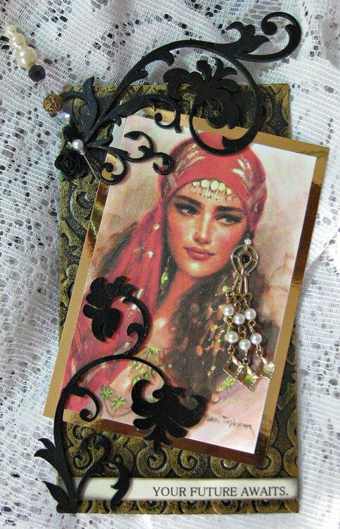 Martica's Gypsy Tag and Hat Pin Swap ~ Gypsy #1