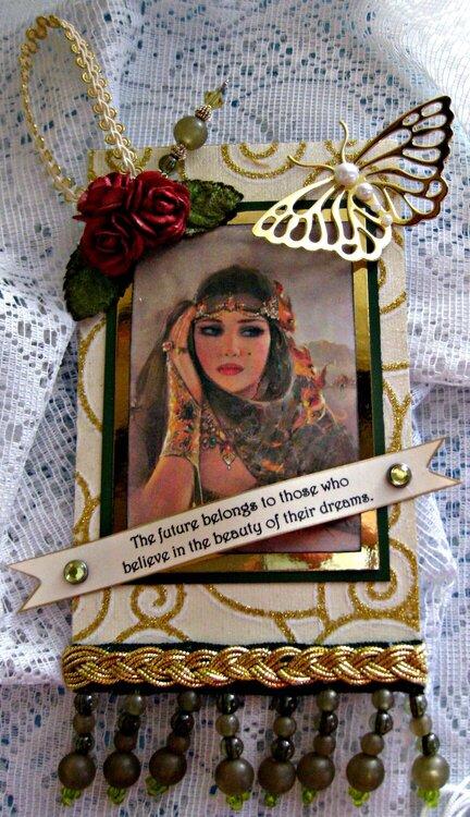 Martica's Gypsy Tag and Hat Pin Swap ~ Gypsy #2