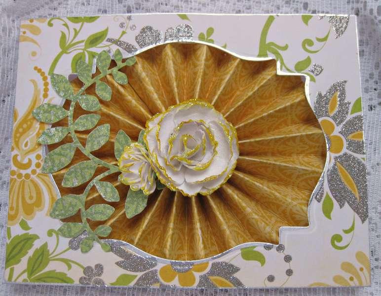 Lemon Flower Card
