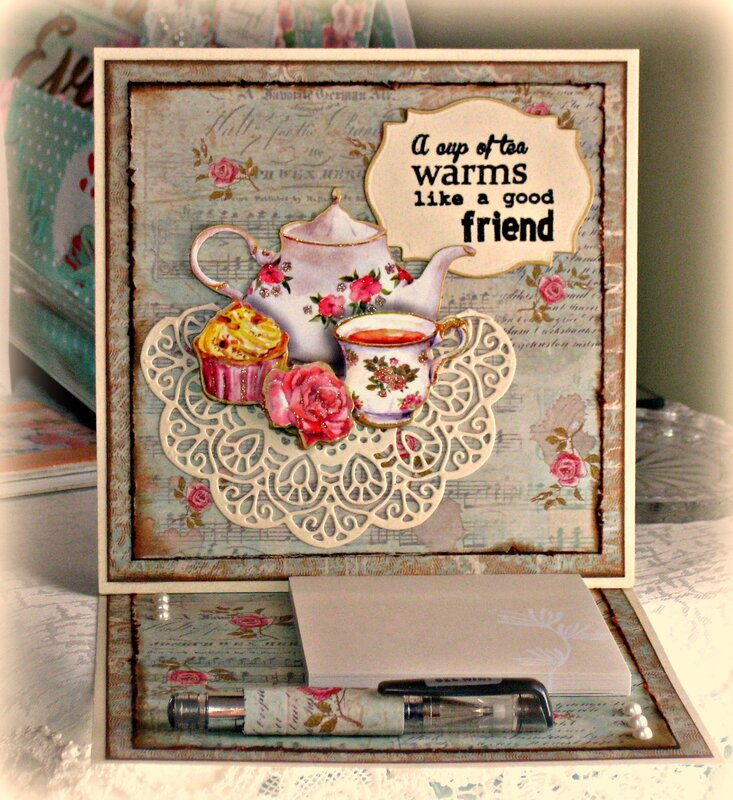 Christmas in July/July VLB ~ Note Pad