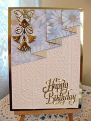 Card 25 ~ Draped Birthday