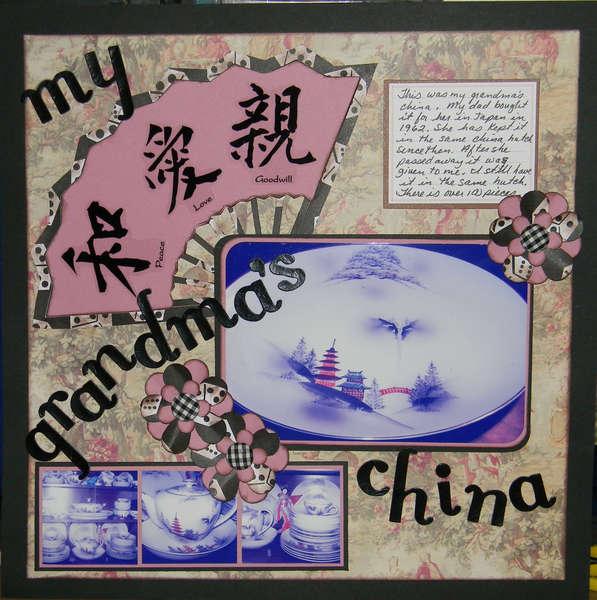 My Grandma's China