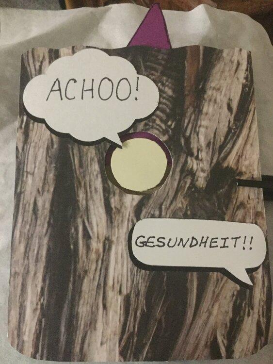 Achoo! Gesundheit!