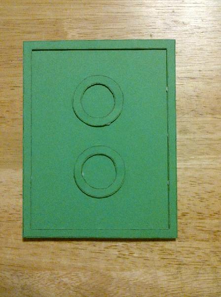 Lego Card Back Side