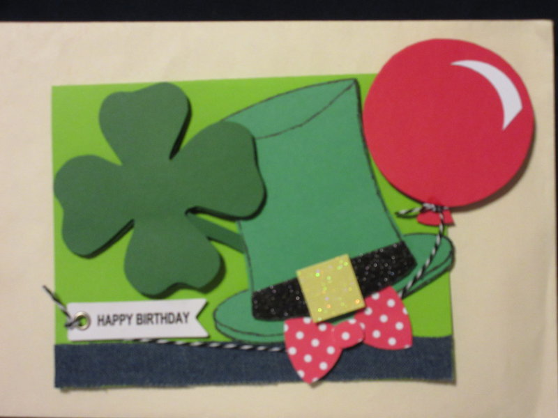 Birthday and St Patrick's Day