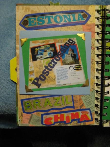 Smash Book - Postcrossing