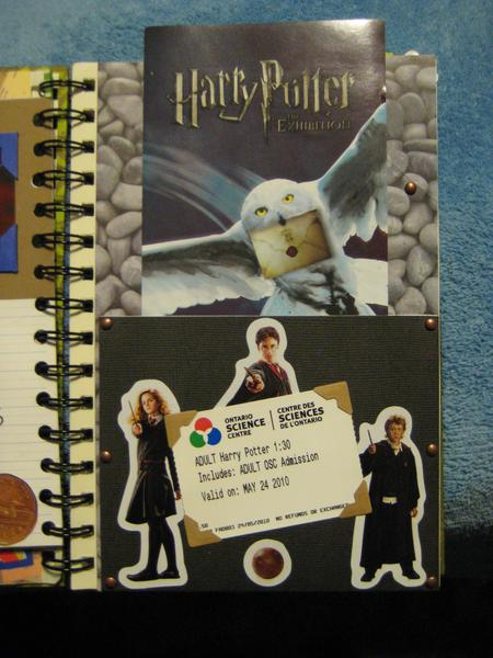 Smash Book - Harry Potter page