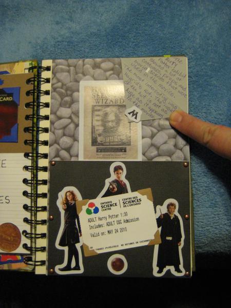 Smash Book - Harry Potter Hidden Message