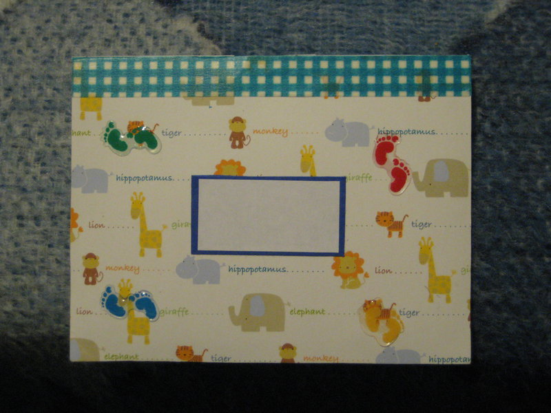 Envelope for Baby Card