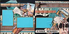 Graphic 45 Summer Memories Layout