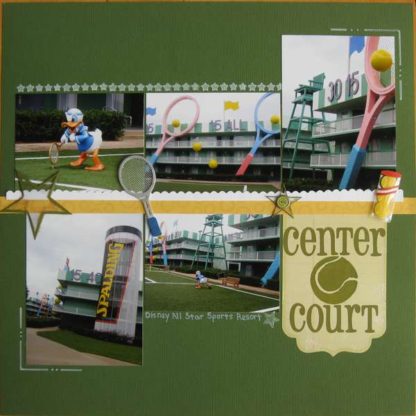 Center Court-Disney All Star Sports