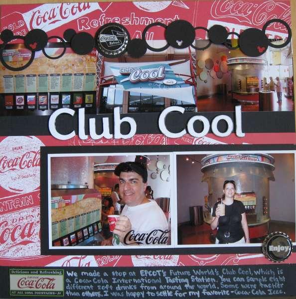 EPCOT's Club Cool
