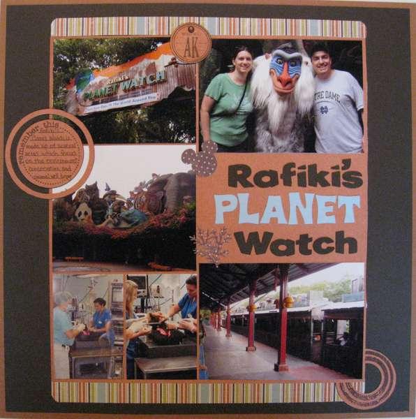 Rafiki's Planet Watch- Animal Kingdom