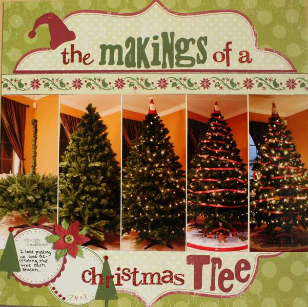 The Makings of a Christmas Tree using the MM Slice