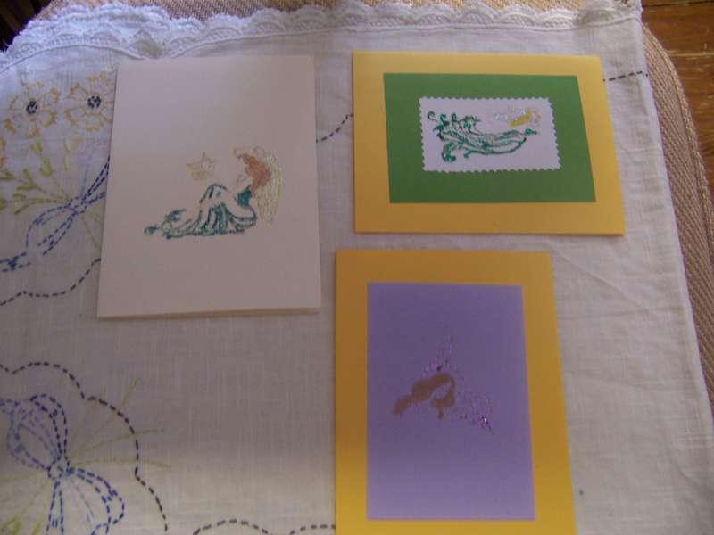stickled cards   2009  *