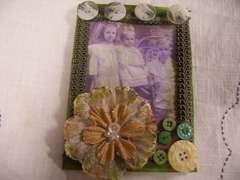 card for vintage  cildrens card swap.   2009 *