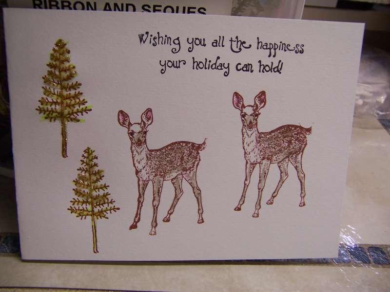 christmas card 208 *