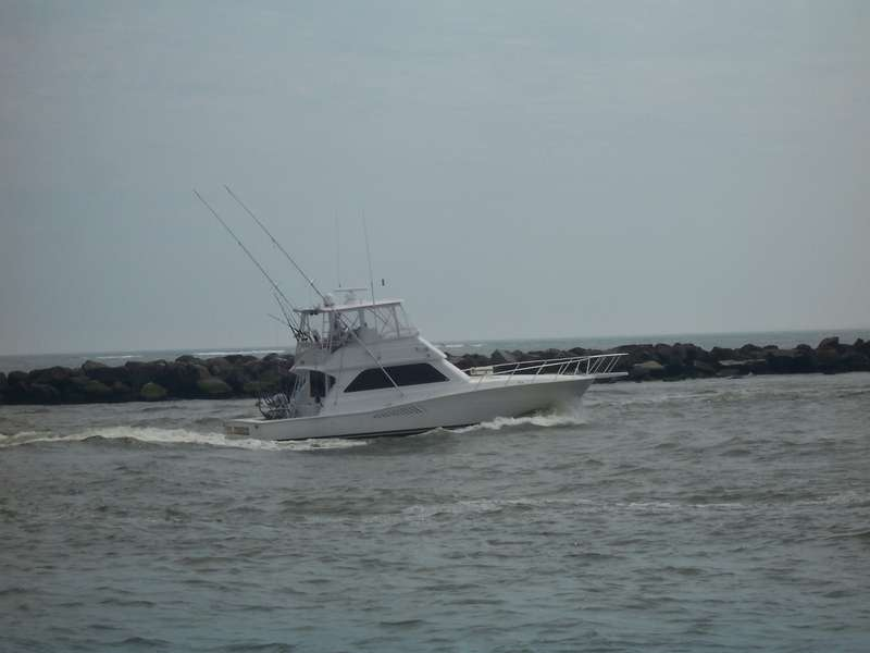 boat in the ocean 2009