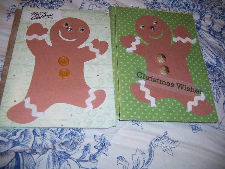 gingermen  cards