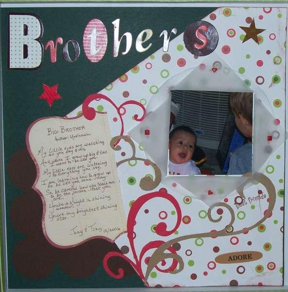 Adore my Big Bro'