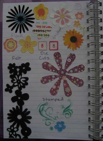 Idea Book Page 12-Flowers